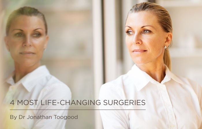 MOST LIFE CHANGING SURGERIES By Dr Jonathan Toogood, 4 Most life-changing surgeries Somerset Surgery | Plastic Surgery Somerset West