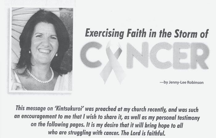 Jenny Lee Robinson Joy Magazine1, My breast cancer story - A personal testimony Somerset Surgery   Plastic Surgery Somerset West