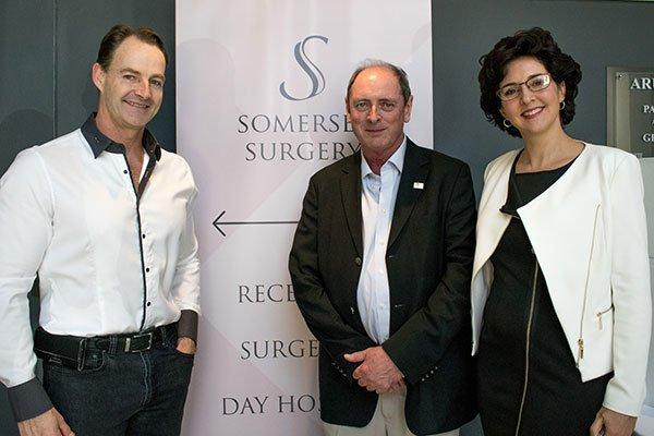 Dr Jonathan Toogood, Dr Scott (President APRASSA) Sheldene Toogood