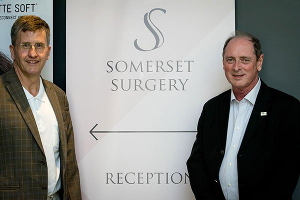 Dr Klaus Ubererreiter and Dr Peter Scott