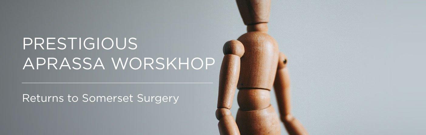 APRASSA worskhop header, Prestigious APRASSA worskhop returns to Somerset Surgery Somerset Surgery | Plastic Surgery Somerset West